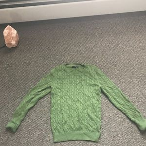 Gap Cable Knit Sweater Green